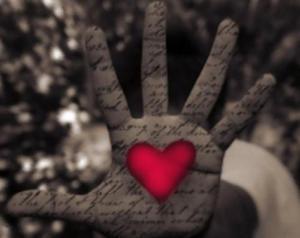 righe scritte col cuore