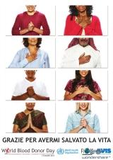 Manifesto della Giornata Mondiale del Donatore2015